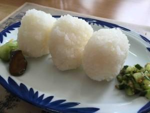 五幕 上郷のおいしいお米&お漬物