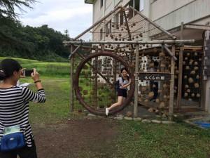(T259)もぐらの家 ここでも中国語が飛び交う。海外からの観光客がいっぱい