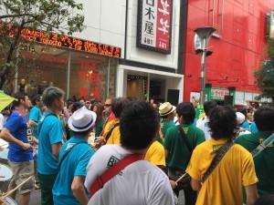 このパレードのために日本でもオーディションを行って、パーカッションメンバーが集められたそう