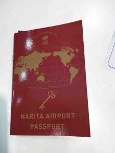 成田空港ブースでもらえるバスポート。もちろん無料
