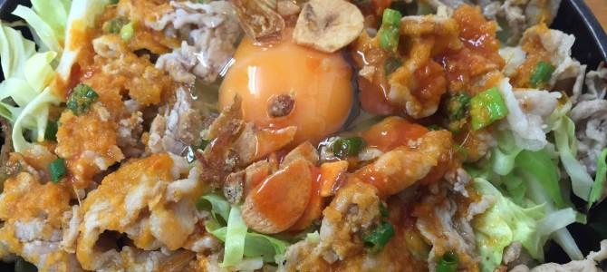 ※中毒注意※ 鉄板麺!テッパンメン!てっぱんめーん!!タバスコ、生卵、にんにくチップでノックアウト@東京・東中野