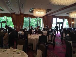 イベント会場は「大食堂」。名前がなんだか大正時代の建物っぽい(笑)