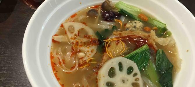 薬膳料理「ZEN ROOM」の一番人気ランチ「健美麺」@東京・自由が丘