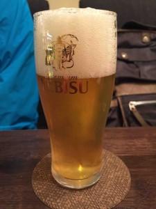 ビールもあります