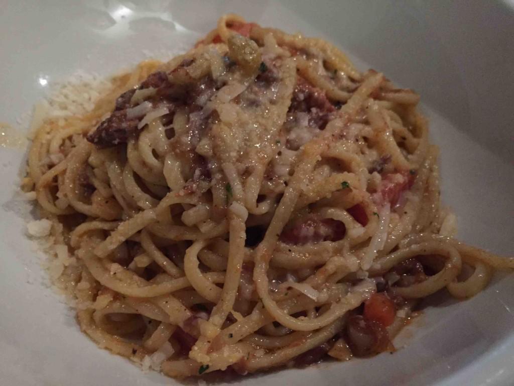 linguine, cinghiale ragu, parmigiano $14