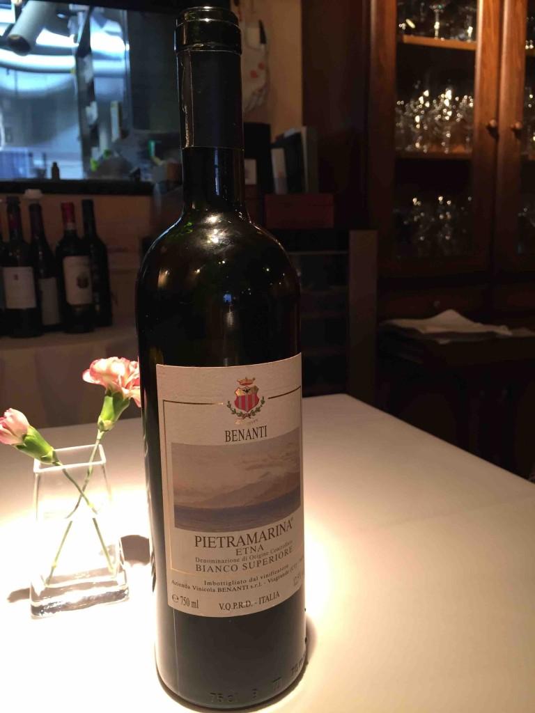 日本でもうこれ1本しかないというヴィンデージの白ワイン