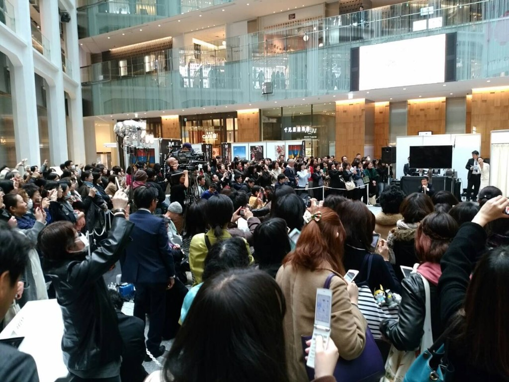 しかも、この手のイベントではかなりレアなことに、スマホやタブレットの撮影も許可された!!NHK×滋賀県のイベントなのにびっくり&太っ腹!!