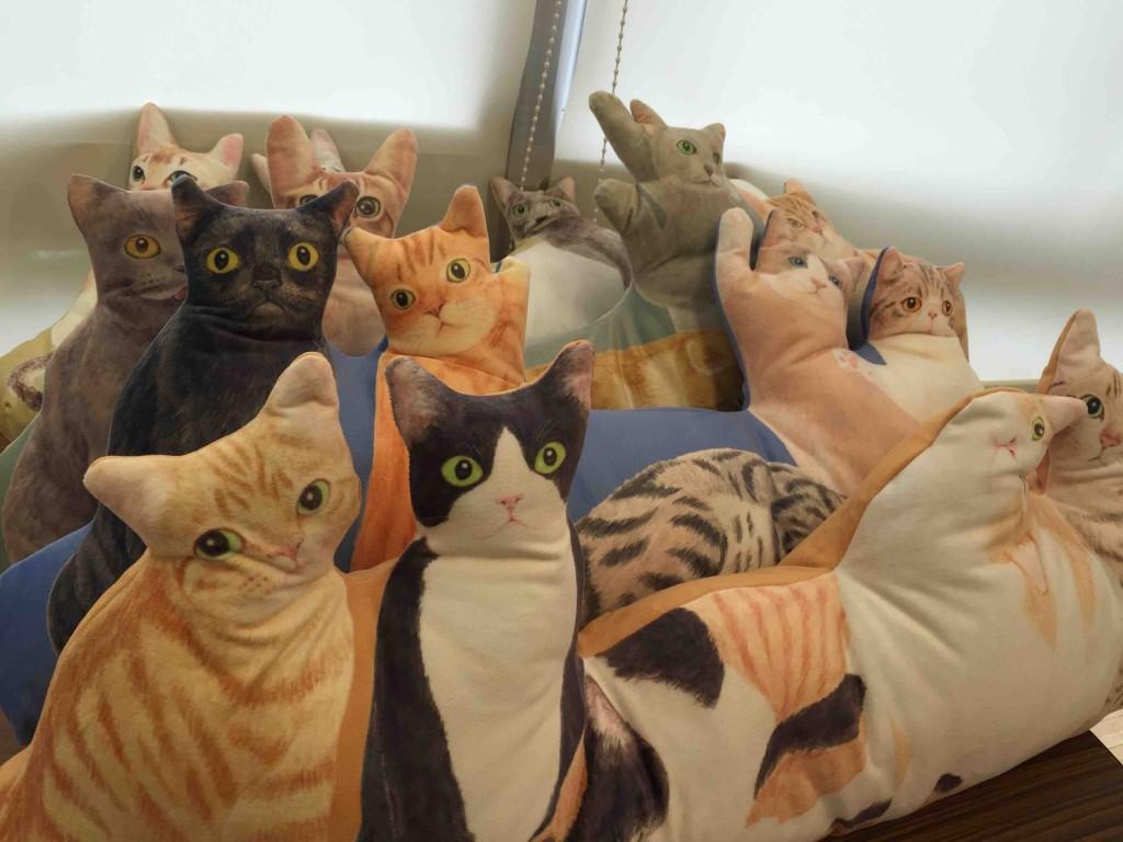 YOU+MORE!にゃんともぜいたくな 猫まみれハーレムクッションの会(4回限定コレクション) 5600円(税抜)