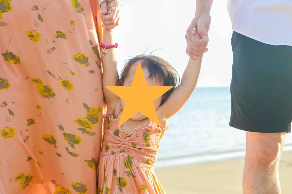 写真を見るたび「ハワイ〜❤️」と娘も大満足