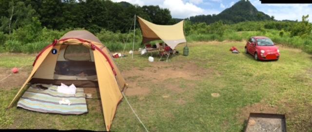 無印良品のキャンプ場で、キャンプデビューしました@新潟県津南町