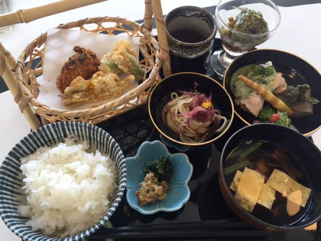 青梅雨の野良しごとご膳(1260円税抜)