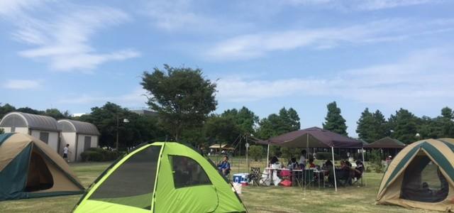 都心でキャンプ!?濡れたテントを干すために「若洲公園」へ@東京・江東区