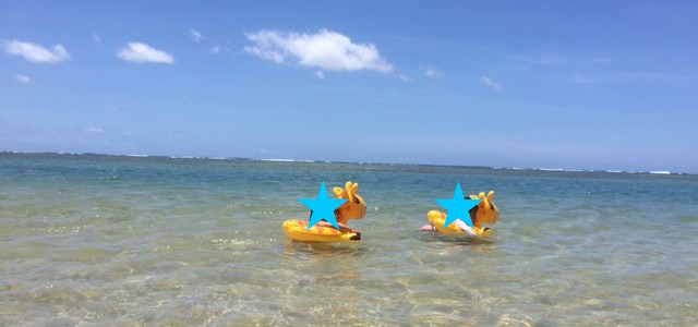 2歳1か月と2歳7か月。たった半年で全然違うハワイの楽しみ方