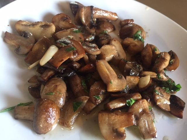 roasted mushroom $8